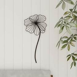 Lavish Home Wall Decor-rustic Metal Wire Stemmed Flower Sculpture Hanging Acc...