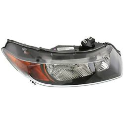 Headlight For 2006-2007 Honda Civic Coupe Right Clear Lens With Bulb