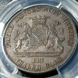 1865 2nd German Federal Shooting Festival Memorial Large Silver Coin