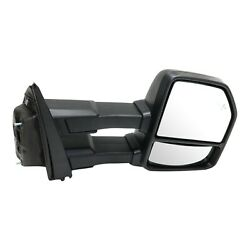 Tow Mirror For 2015 2018 Ford F-150 Passenger Side Power Fold Heat Blind Spot