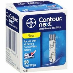 Contour-next Blood Glucose Test Strips Monitoring System - 50 Ct 24 Pack