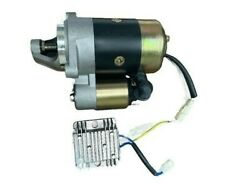 Diesel Starter With Voltage Regulator Fits Engines/generator Yanmar And Chinese