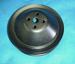 67 68 Camaro Z28 And Corvette Water Pump Pulley 302 327 3770245 409 Gm Chevy