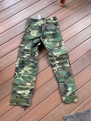 Orc Us Military Xs Extra Small Woodland Bdu Improved Rainsuit Trousers Pants
