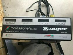 Ranger Quad Pro Professional Series Battery Charger Model Ps4 4-15a-banks