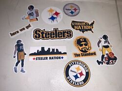 Pittsburgh Steelers Water Resistant Stickers / Decals