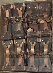 40 Leather Ammo Pouch Mosin Nagant Rifle Soviet Cold War Russia M91/30 M39 M44