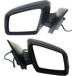 Power Mirror Set For 2013-2014 Mercedes Benz Ml350 Heated With Memory Primed