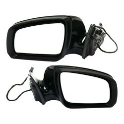 Mirror For 2008-2009 Mercedes-benz C230 Set Of 2 Lh And Rh Manual Folding