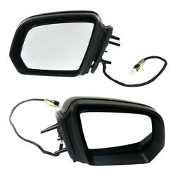 Power Mirror Set For 2009 Mercedes Benz Ml350 Heated Power Folding With Memory
