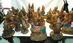 Tom Clark Vintage Gnome Collection23 Gnomes Very Good - Excellent Cond. W2s15