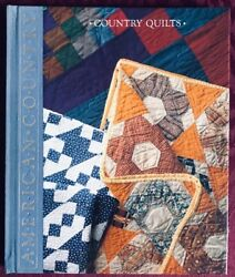 Time-life Books American Country Country Quilts Hardcover Book