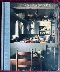 Time-life Books American Country The Country Kitchen Hardcover Book