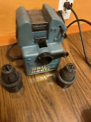 Drill Doctor Dd500 Tradesman Bit Sharpener, Case, Manual With 1/2-3/4 Chuck Hold