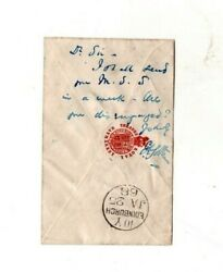 Edward Askew Sothern,london 1868,autographed Message He Wrote On An Envelope