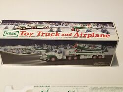 Vintage Hess 2002 Hess Toy Truck And Airplane W/ Lights And Sound Nos Retired