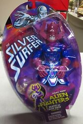 Marvel Comics Galactus Action Figure And Silver Surfer In Orb Toy Biz 1998