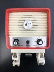 Vintage 60and039s 70and039s Arvin Bicycle Am Radio W/horn And Reflector