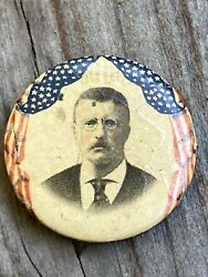 1903/1904 Theodore Roosevelt Presidential Campaign Pinback Button