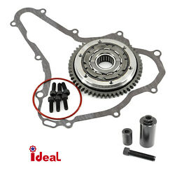 Starter Clutch Gear For Suzuki Ltr 450 06-09 With Gasket O Ring Puller M38 X1.5