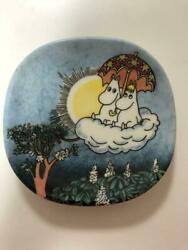Discontinued Product Arabic Plate Moomin Vintage