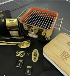 Ben Baller X Kingsford Ntwrk Exclusive Gold Played Bbq Grill Set Le 50 Sold Out