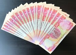 25000 Iqd Banknotes X 40 - One Million Iraqi Dinar - Authentic - Fast Delivery