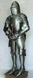Medieval Knights Antique Collectibles Armour Suit Of Full Body Armor Wearable