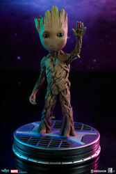 Sideshow Baby Groot Life Size Maquette Guardians Of The Galaxy Statue Figurine