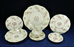 74-pieces Or Less Of Delaware Pattern Theodore Haviland New York China