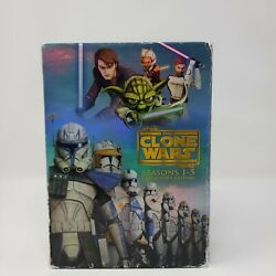 Star Wars The Clone Wars - The Complete Seasons 1-5 Dvd, Collectors Edition