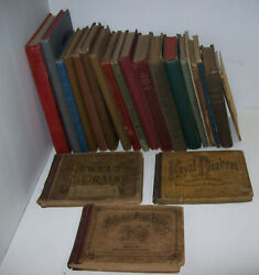 Antique Vintage Book Lot Gospel Hymn Songs Church Music And School 1873-1947