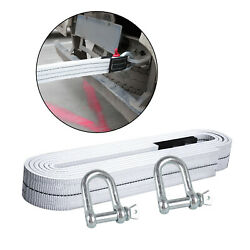 Durable High Strength Up To 6 Ton Towing Ropes Tow Straps For Car Trailer