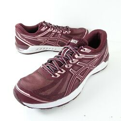 Asics Womens Gel Sileo 1012a177 Purple Running Shoes Lace Up Low Top Size 11