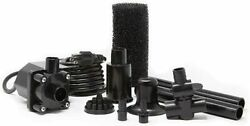 Beckett Corporation 800 Gph Submersible Pond Pump Kit With Prefilter And Nozzles