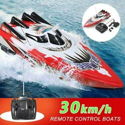 Rc Boat 2.4ghz Racing High Speed Remote Control Boat Kids Toys D2s8 H6w8