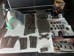 126 Piece Lionel Train Set Assorted Tracks, Tunnel, Transformer, Switches, More