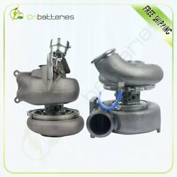 Twin Turbocharger High And Low Psi Turbo For 2005-2009 Caterpillar Cat C15 Acert