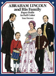 Tierney Tom-paper Doll-abraham Lincoln And H Book New