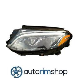 Left Driver Side Headlight Lens And Housing For 2016 Mercedes Gle350d Mb2518106