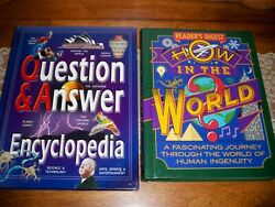 Lot Of 2 Books Reader's Digest How In The World And Miles Kelly Question And Answer