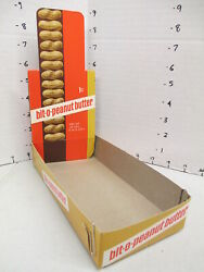 Williamson Candy Bar Company 1969 Box Store Display Bit O Peanut Butter 1cent