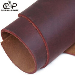 Veg Tanned Cowhide Tooling Leather for Moulding Holster Armor 5 6Oz 2MM in USA $18.45
