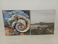 Vg+ The Moody Blues Lot Of 2 Lp A Question Of Balance,seventh Sojourn