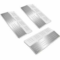 """Gas Grill Parts 17"""" Heat Shield Plates Stainless Steel Bbq Burner Cover"""