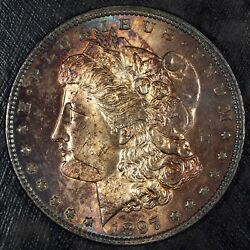 1897 P Morgan Silver Dollar ☆☆ Uncirculated And Toned ☆☆ Great For Sets 310