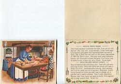 Vintage Colonial Boston Baked Beans New England Dinner Recipe 1 Betsy Ross Card