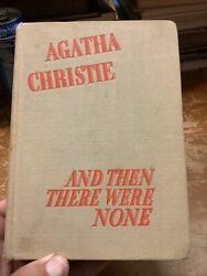 Agatha Christie And Then There Were None 1st American 1st Printing