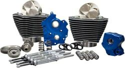 Sandamps Cycle M8 Power Package Kit - Water Cooled Gear Drive Highlighted Fins