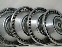 Vintage 1968 1969 Chevy Chevrolet Impala Caprice Hubcaps Wheel Covers 14 1964